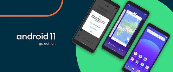 Android 11 Go Edition é mais rápido e funciona com até 2 GB de RAM
