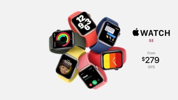 Apple lançou o Apple Watch SE, um modelo novo e acessível por 279 dólares