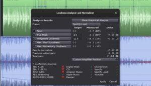 Ardour 6.3 lançado com um novo recurso de análise de intensidade