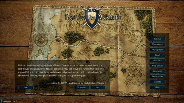 Battle for Wesnoth 1.14.14 lançado com melhorias complementares