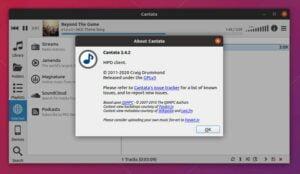 Cantata MPD 2.4.2 lançado com suporte ao Ubuntu 20.04 e correções