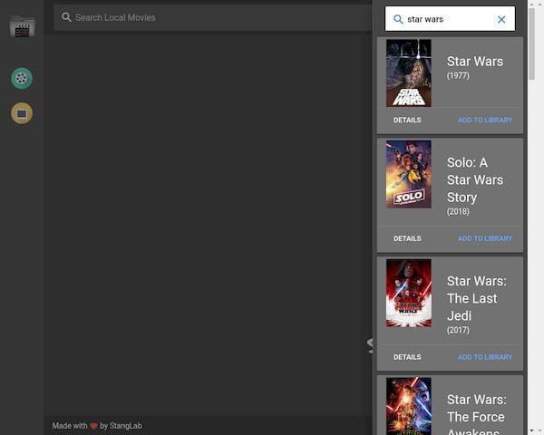 Como instalar a biblioteca de filmes Tbinge no Linux via Snap