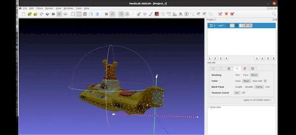 Como instalar editor de malhas 3D MeshLab no Linux