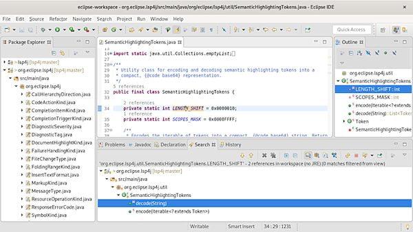 Como instalar o Eclipse IDE for Web and JavaScript Developers no Linux