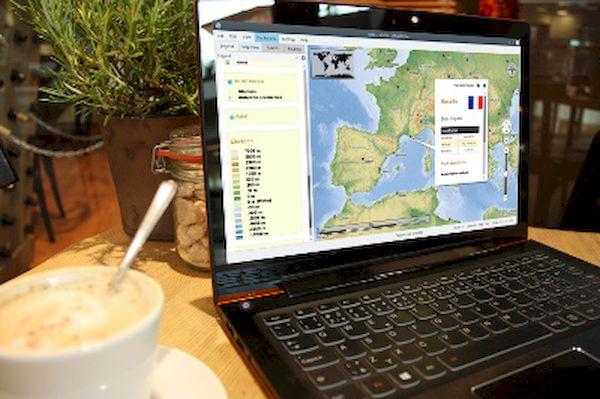 Como instalar o globo virtual Marble no Linux via Flatpak