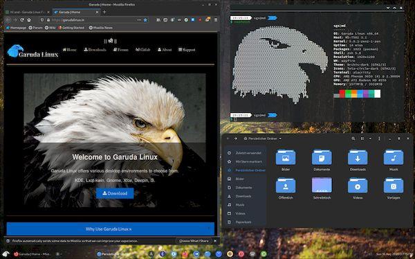 Garuda Linux 200831 lançado com melhorias, novos recursos e atualizações