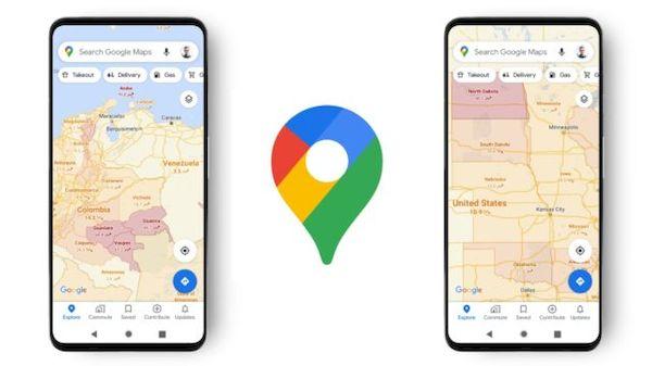 Google Maps recebeu uma camada de informações sobre COVID-19