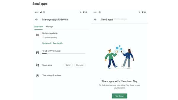 Google Play Store terá um recurso para compartilhar apps sem Internet