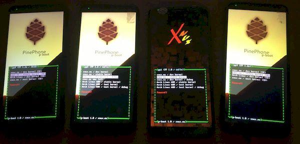Imagem Multi-boot permite que você execute 13 distros no PinePhone