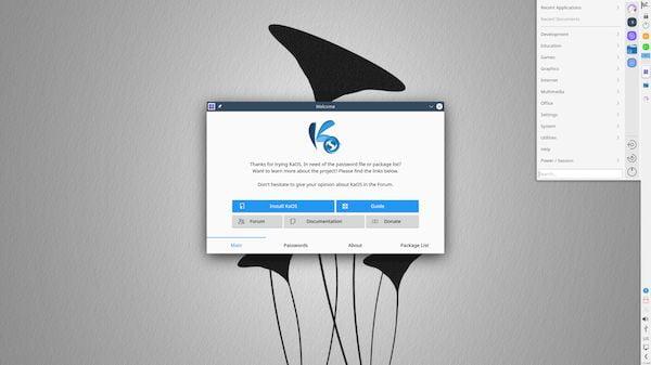 KaOS 2020.09 lançado com KDE Applications 20.08.1 e Frameworks 5.74.0