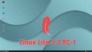 Linux Lite 5.2 RC-1 já está disponível para download e teste