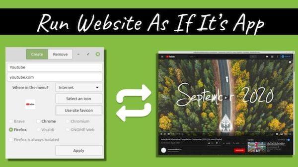 Linux Mint WebApp Manager pode transformar sites em aplicativos de desktop