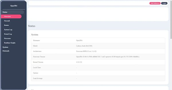 OpenWrt 19.07.4 lançado com melhorias na interface web e muito mais