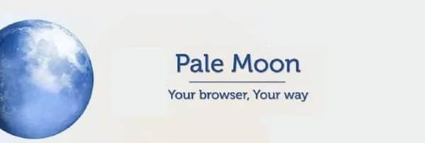 Pale Moon 28.13 lançado com mudanças para os user-agent e mais