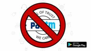 Paytm foi removido da Google Play Store por violação das políticas de jogos de azar