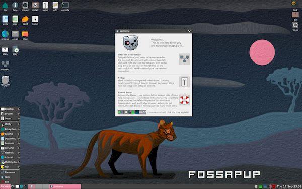Puppy Linux 9.5 lançado com base no Ubuntu 20.04 Focal Fossa