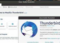 Thunderbird 78.3.1 lançado com correções importantes e melhorias
