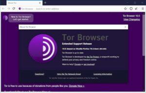 Tor Browser 10 lançado com base na versão mais recente do Firefox ESR