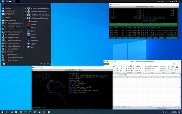 Win-KeX versão 2.0 lançado com suporte ao WSL 2 e outras melhorias