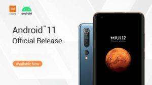 Xiaomi anunciou os dispositivos que receberão o MIUI 12 Android 11
