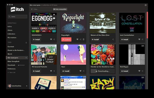 5 jogos independentes para Linux disponíveis na plataforma itch