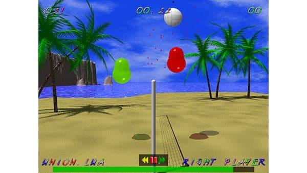 Como instalar o jogo de vôlei Blobby Volley 2 no Linux via Flatpak
