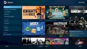 GamerOS 20 lançado com suporte para a Epic Games Store