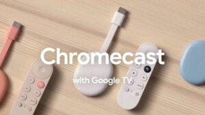 Google Chromecast com Google TV lançado e já tem gente vendendo ele