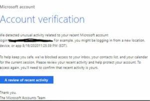 Invasores de phishing preferem a Microsoft mais do que outras marcas