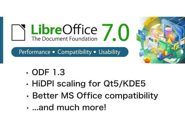 LibreOffice 7.0.2 lançado com mais de 130 correções de bugs