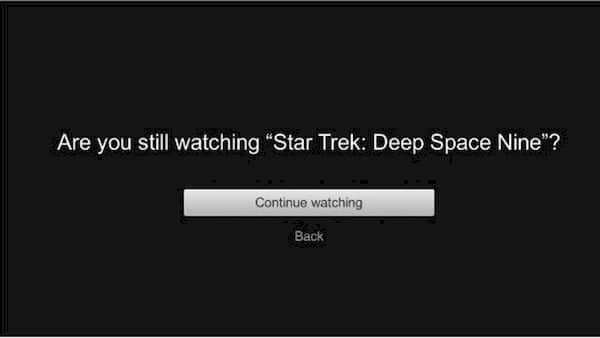 Logo você poderá remover a função Você ainda está assistindo? do Netflix
