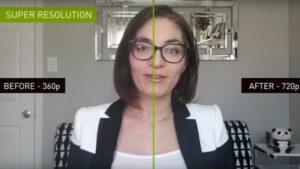 Nvidia revelou a Maxine AI uma tecnologia para melhor qualidade de videochamadas