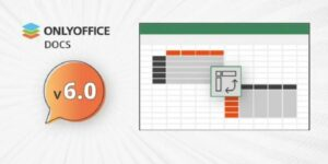OnlyOffice 6.0 lançado com melhorias para planilhas, edição de servidor e muito mais