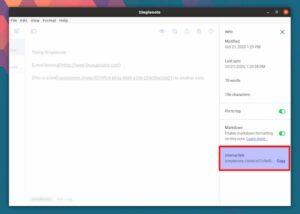Simplenote 2 lançado com suporte para links internos e mais