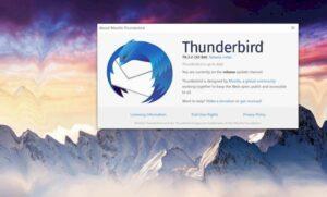Thunderbird 78.3.2 lançado com várias mudanças importantes