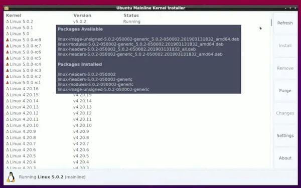 Ukuu abandonou a GPL e o Ubuntu Mainline Kernel Installer tomou o seu lugar