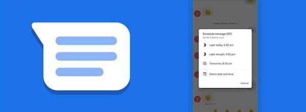 Agora você pode programar mensagens no app Messages do Google