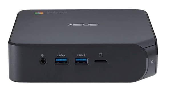 Asus Chromebox 4 lançado com CPU Intel Comet Lake, WiFi 6 e mais