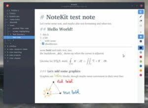 Como instalar o app de anotações NoteKit no Linux via Snap