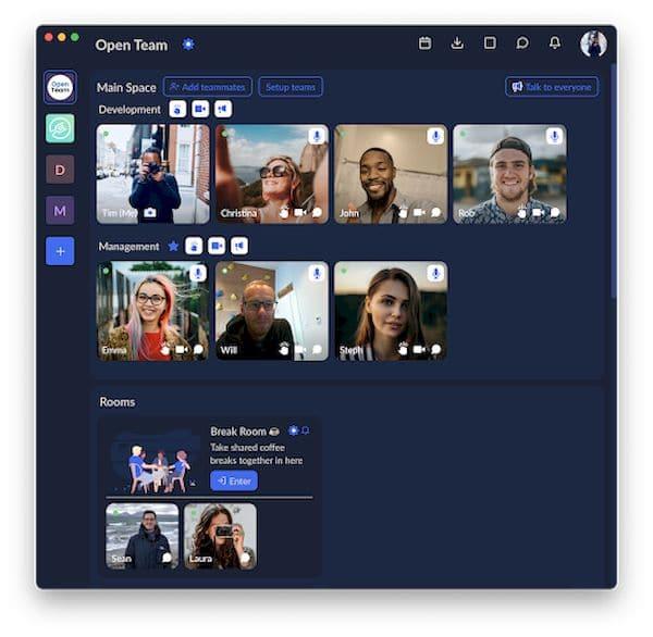 Como instalar o app de videoconferência OpenTeam no Linux via Snap