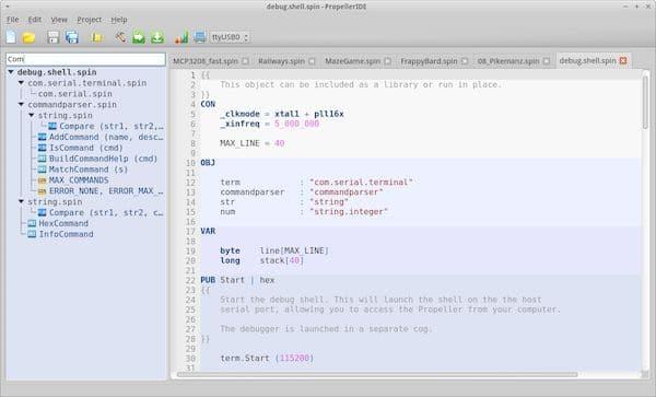 Como instalar o poderoso PropellerIDE no Linux via Flatpak