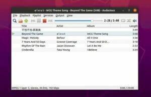 Como instalar o reprodutor Audacious no Linux via Flatpak