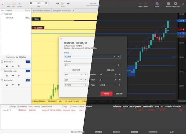 Como instalar o Trading Simulator TradeSim no Linux via Flatpak