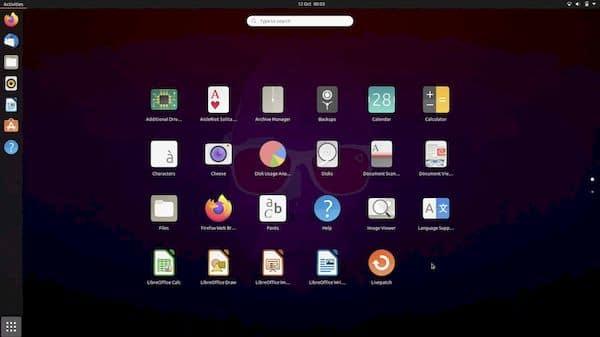 Como redefinir a grade de aplicativos no GNOME 3.38