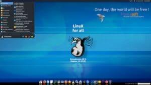 Emmabuntüs DE3-1.03 lançado com os ambientes de desktop Xfce e LXQt