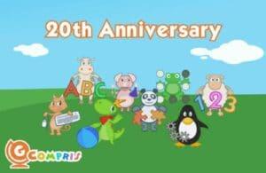 GCompris 1.0 lançado em comemoração do 20º aniversário do projeto