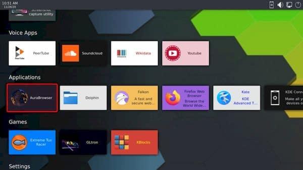 KDE Plasma Bigscreen for Smart TVs recebeu suporte para KDE Connect