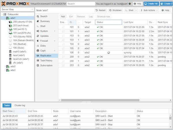 Proxmox 6.3 VE lançado com melhorias de funcionalidade e usabilidade