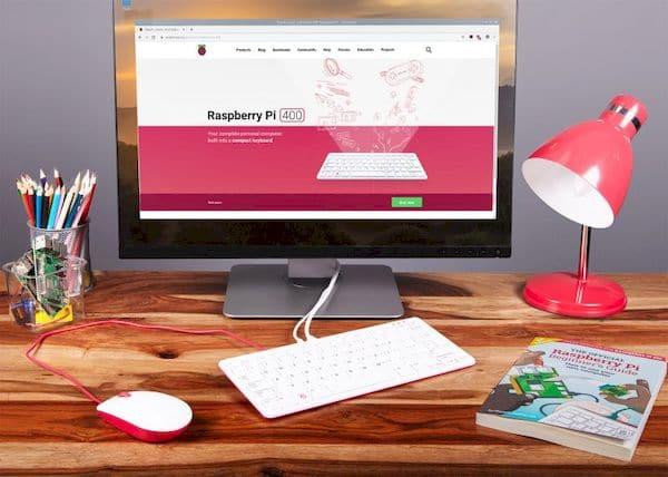 Raspberry Pi 400 é literalmente um computador em um teclado
