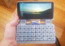 Teclado impresso em 3D permite transformar o PinePhone em um laptop
